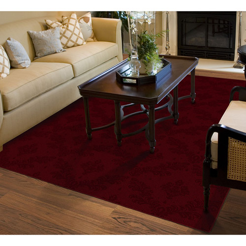 charleston cut and loop patterned olefin area rug walmart com rh walmart com